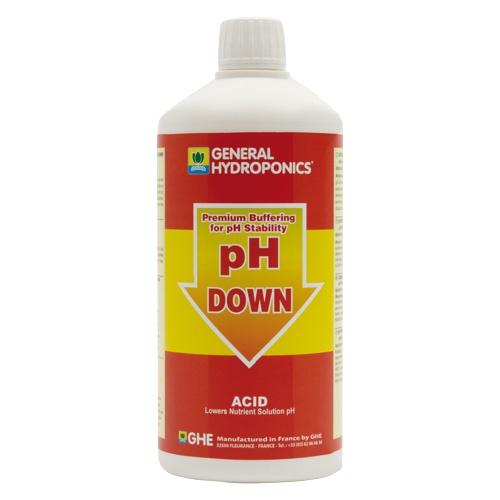 GHE pH-Down, zur pH-Wert-Stabilisierung, 1 L