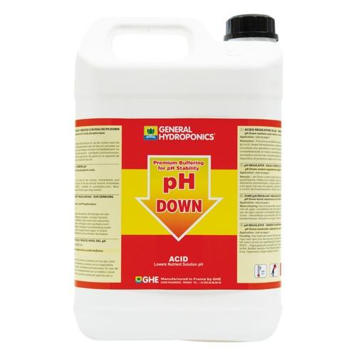 GHE pH-Down, zur pH-Wert-Stabilisierung, 5L