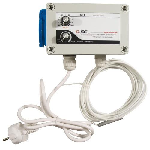 GSE Temperatur-Regler, regelt Temperatur und Minimalgeschwindigkeit