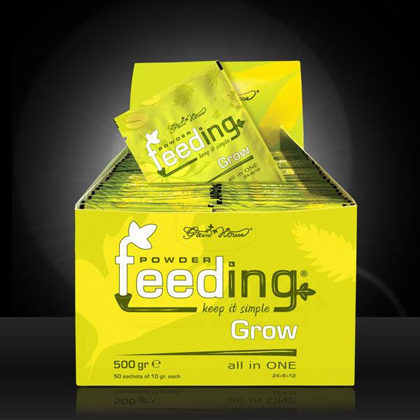 Green House Powder Feeding - Grow, 50 Beutel á 10g
