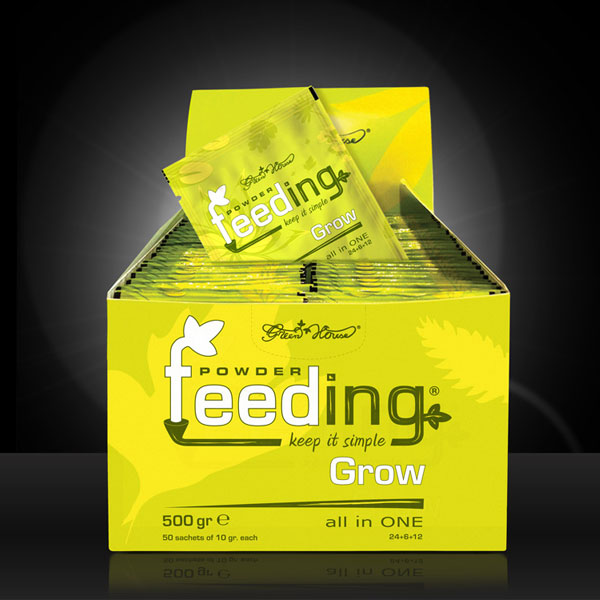 Green House Powder Feeding - Grow, 50 Beutel á 10g