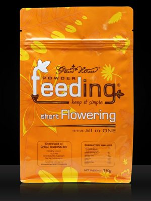 Green House Powder Feeding - short Flowering, 1kg