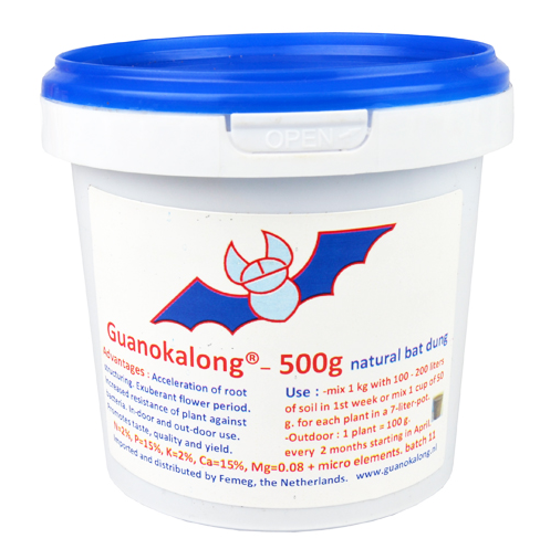 Guanokalong Powder, Fledermausdünger, 500g
