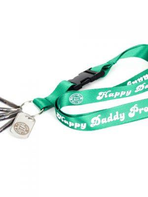 5 Happy Daddy Dabber am Schlüsselband