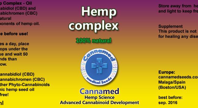 Hemp Complex, 10ml oder 3 x 10ml