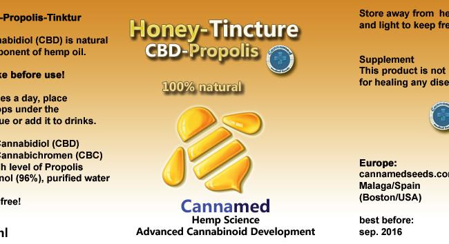 Honey Tinktur, 10ml oder 3 x 10ml