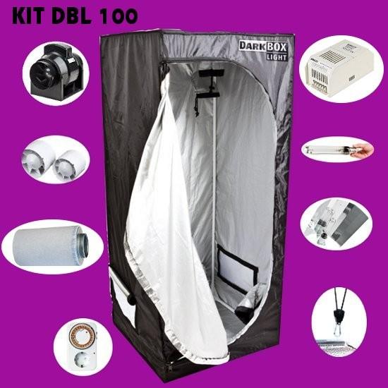 Kit Dark Box Light ECO 100, Komplettset 100x100x200cm