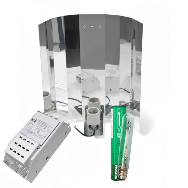 Kit 250W + Leuchtmittel GIB, Komplettset, lose (Blüte oder Wuchs)