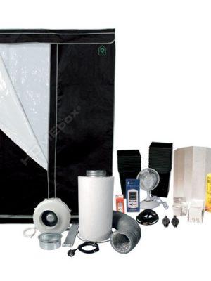 Komplettset HOMEbox Evolution Q 120 DELUXE (120x120x200cm)