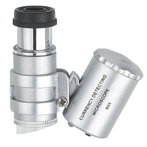 Mikroskop, LED Scope, mit LED-Beleuchtung, Vergrößerung 60-fach
