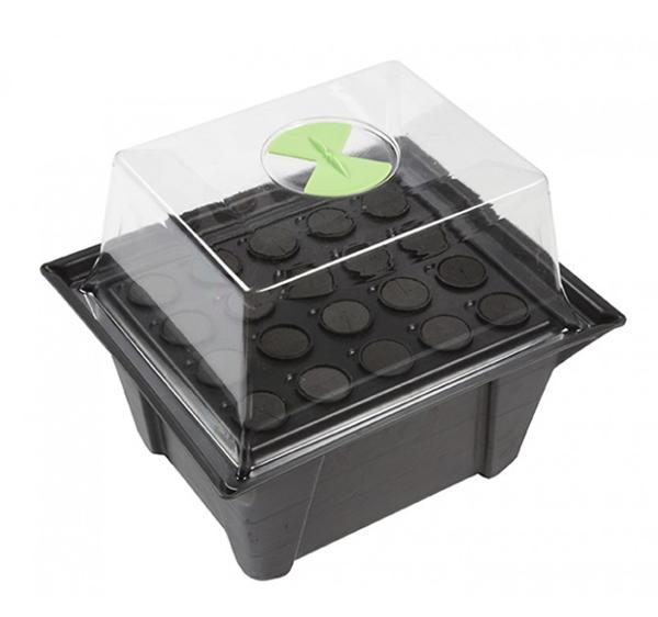 X-Stream, aeroponisches Stecklingsgewächshaus mit Heizung für 20 Pflanzen