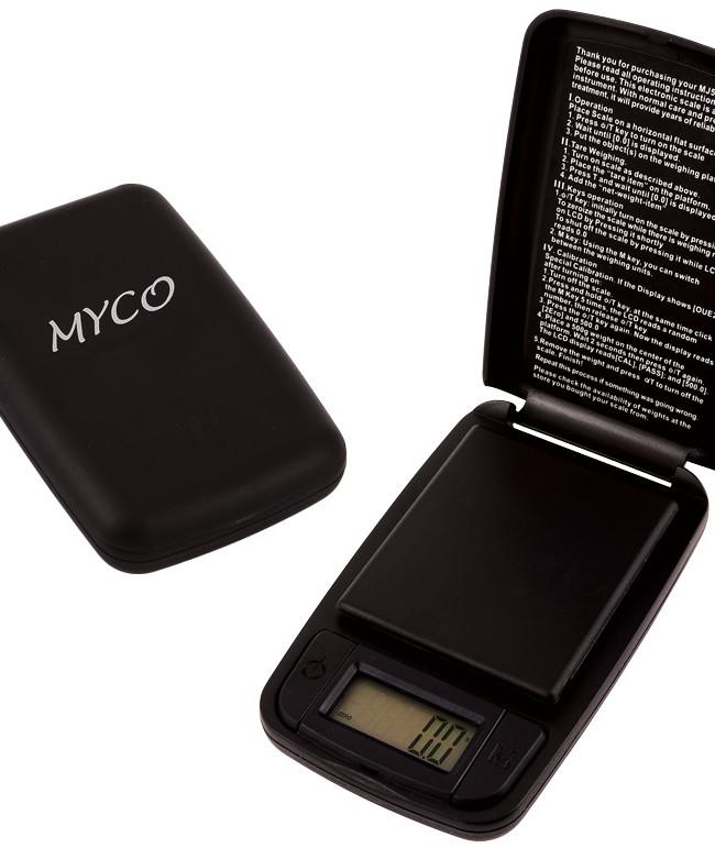 Myco Taschenwaage, Messbereich 600 g, Ablesbarkeit 0,1 g