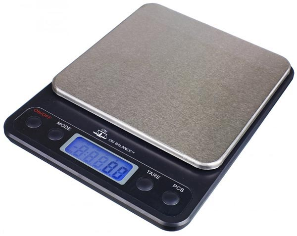 On Balance Ob, Messbereich 500 g, Ablesbarkeit 0,1 g