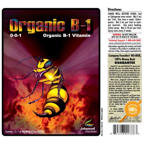 Organic B1 (Advanced Nutrients), 1 L