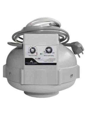 Prima Klima Rohrventilator 125 temperaturgesteuert, 420 m³/h