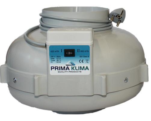 Rohrventilator PK II 125, 2 Stufen 220/360 m³/h