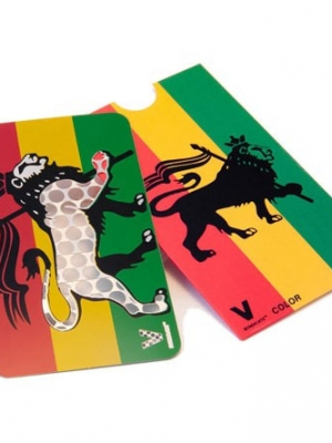 Bud-Hobel Rasta Lion von The V Syndicate - 8,9 x 5,1cm