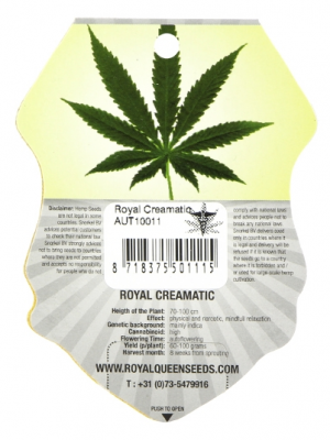 Royal Creamatic Royal Queen Seeds 5 Autoflowering Samen 1000seeds