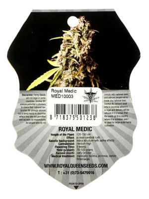Royal Medic (Royal Queen Seeds), 5 feminisierte Samen