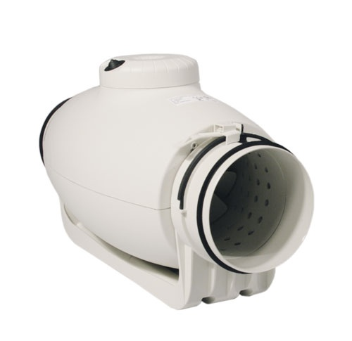 S&P TD Silent 125mm, 380 / 280 m³/h, schallgedämmter Rohrventilator