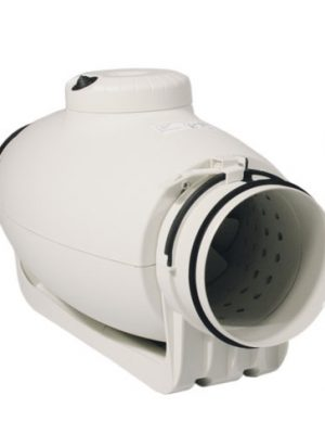 S&P TD Silent 100mm, 240 / 180 m³/h, schallgedämmter Rohrventilator