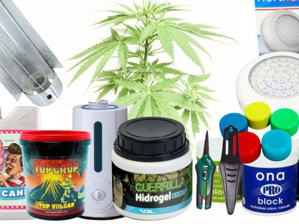 Growshop 1000seeds, Komplett-Sets, Klimatechnik, beleuchtung