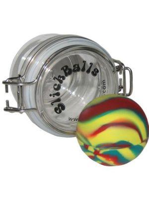 Slick Ball, Konzentratecontainer mit Acrylglas