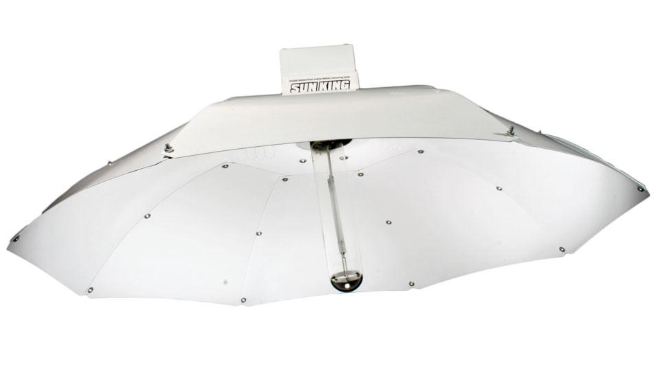 Sun King Parabol-Reflektor, weiß, Durchmesser 100cm