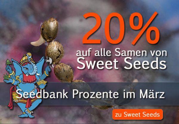 Sweet Seeds Prozente