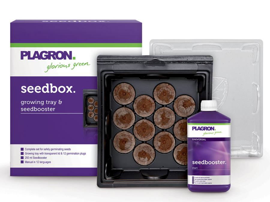Seedbox von Plagron mit 250 ml Seedbooster