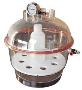 Profi Vakuumkammer mit Manometer 275mm