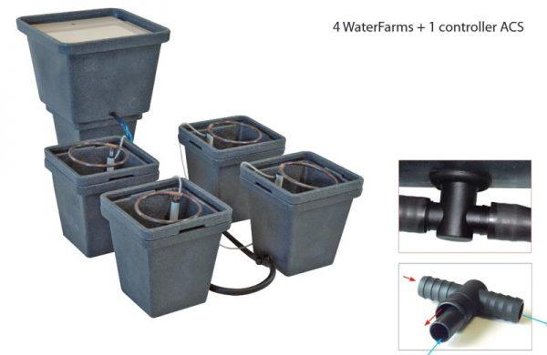WaterPack ACS, hydroponisches System von GHE