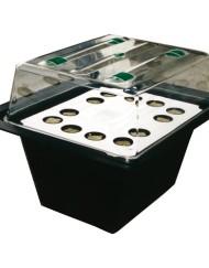 X-Stream, aeroponisches Stecklingsgewächshaus für 12 Stecklinge mit Heizung