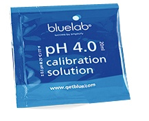 bluelab pH-Eichlösung, 4,0 pH, 20 ml