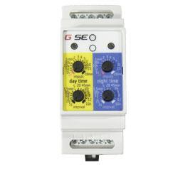 GSE Water Timer, Bewässerungszeitschaltuhr inkl. Tag und Nacht Lichtsensor, 2 A, 230 V, 50 Hz