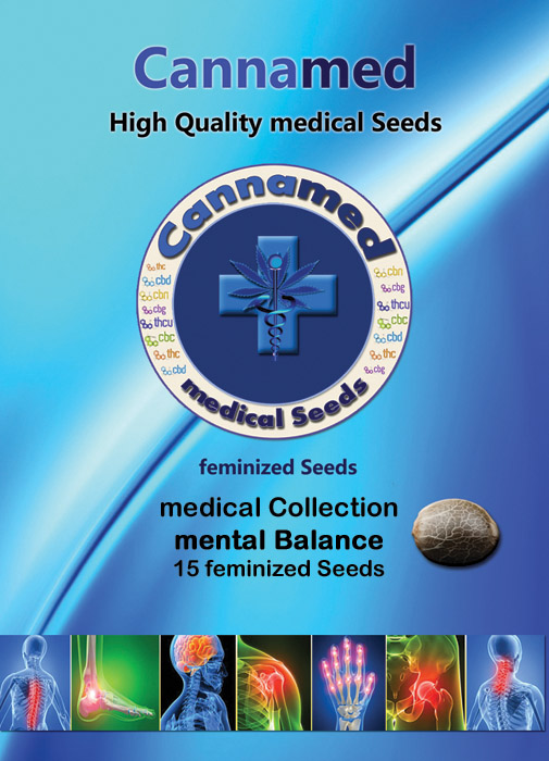 medical Collection - mental Balance (Cannamed), 12 feminisierte Samen