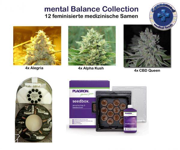 medical Collection - mental Balance (Cannamed), 12 feminisierte Samen