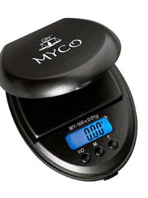 Myco Taschenwaage, Messbereich 100 g, Ablesbarkeit 0,01 g