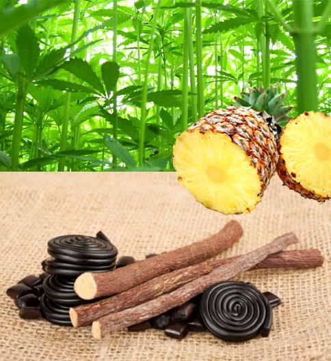 Cannabis-Infusion Ananas-Süßholz, 50g