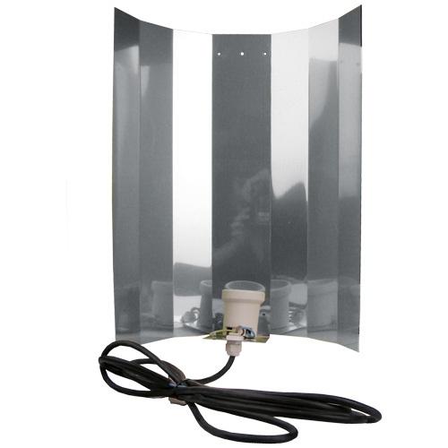 Reflektor, Hochglanz, 50 x 50 cm, montiert