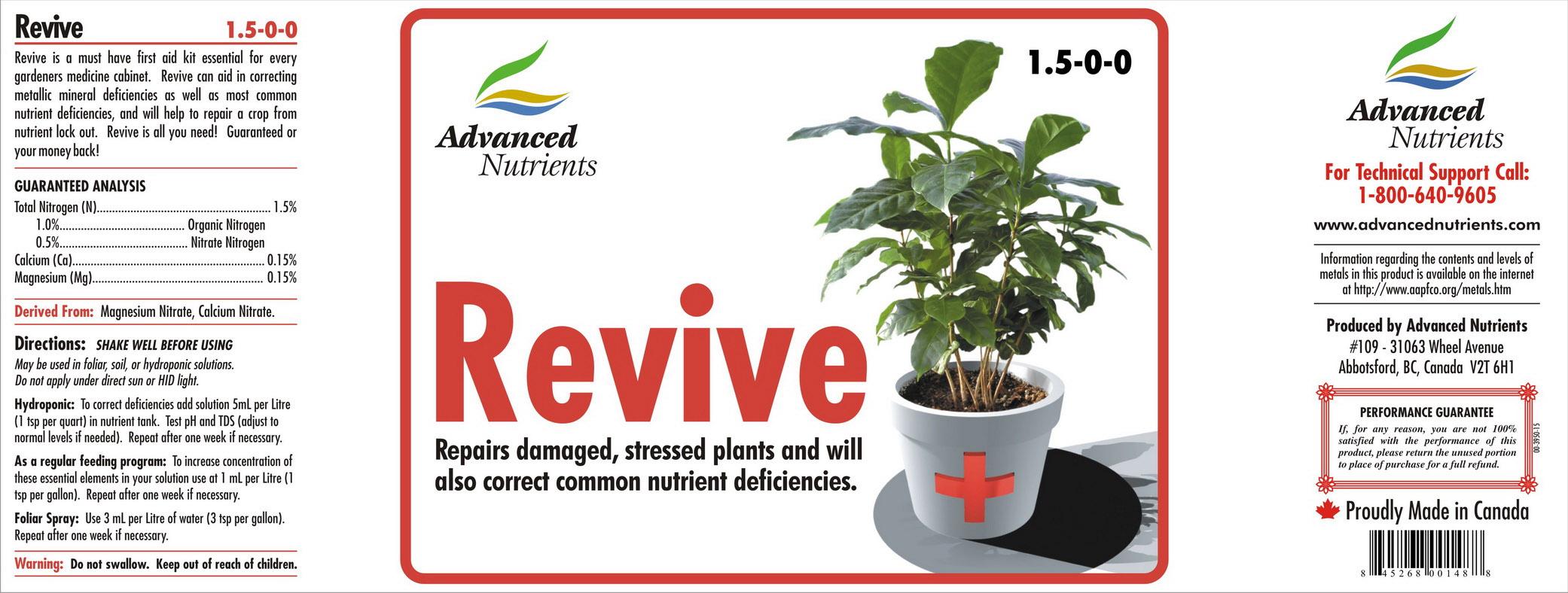 Revive (Advanced Nutrients), 1 L