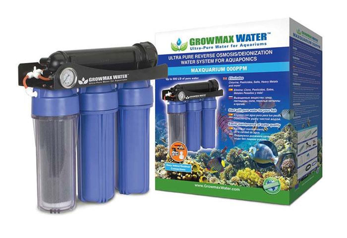 Growmax Osmose, Umkehrosmose Anlage, Reinwasser herstellen, Wasser Cannabispflanzen, Wasser reinigen