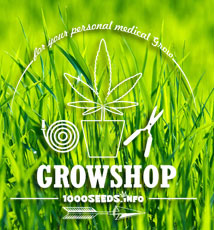 Growshop 1000Seeds, Hydroponig, Growzelte, Cannabisanbau, Licht