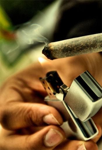 high seine, Effecte von Cannabis, Imagination und marijuana