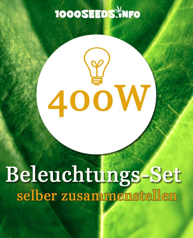 400w beleuchtungs set selber zusammenstellen 1000seeds. Black Bedroom Furniture Sets. Home Design Ideas