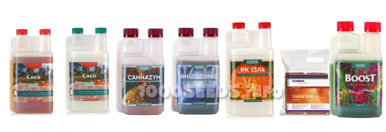 Coco-Zuchtschema, Growshop, Cannabisanbau