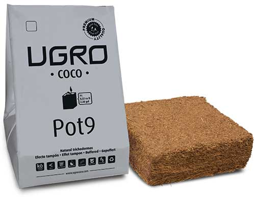 Coco, Coco-Erde, cannabis-Substrate