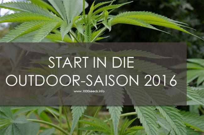 Start in die Outdoor Saison 2016