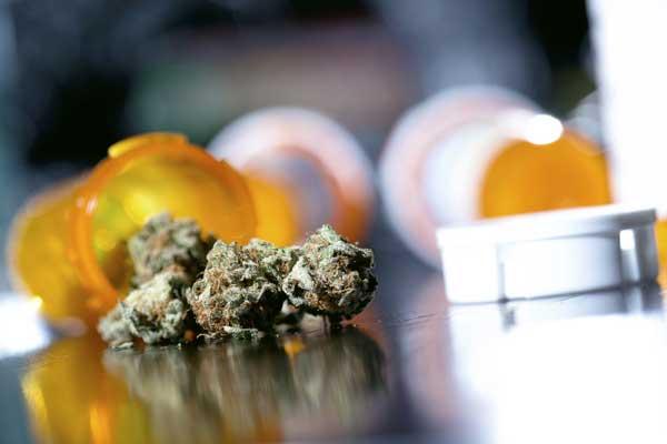 Cannabis-Schmerzen