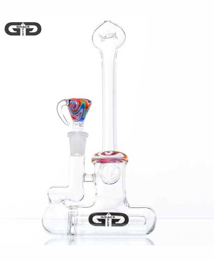 Glass Art Bubbler
